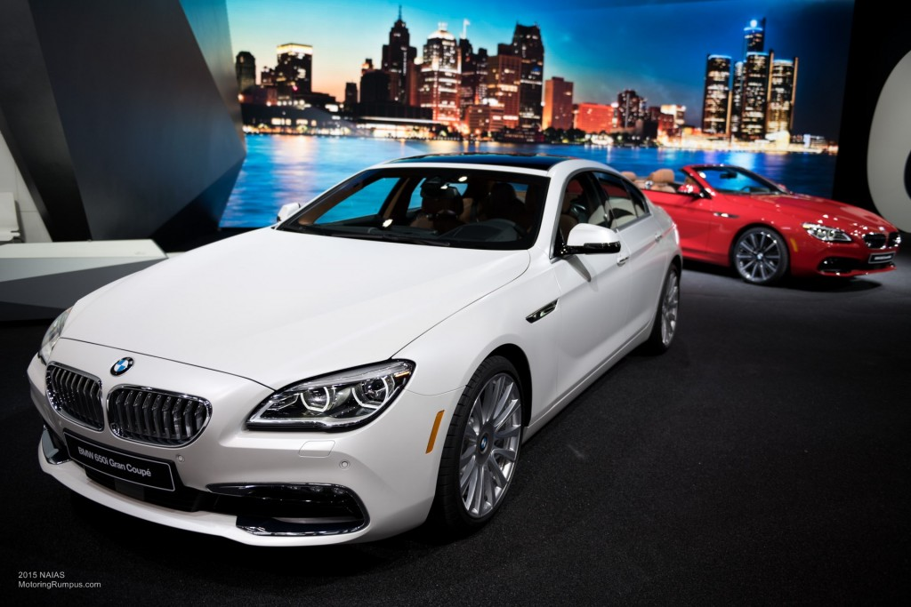 2015 NAIAS BMW 650i Gran Coupe