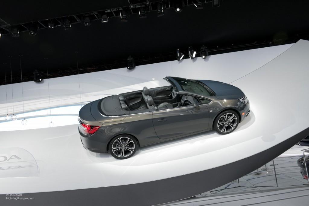 2015 NAIAS Buick Cascada Debut