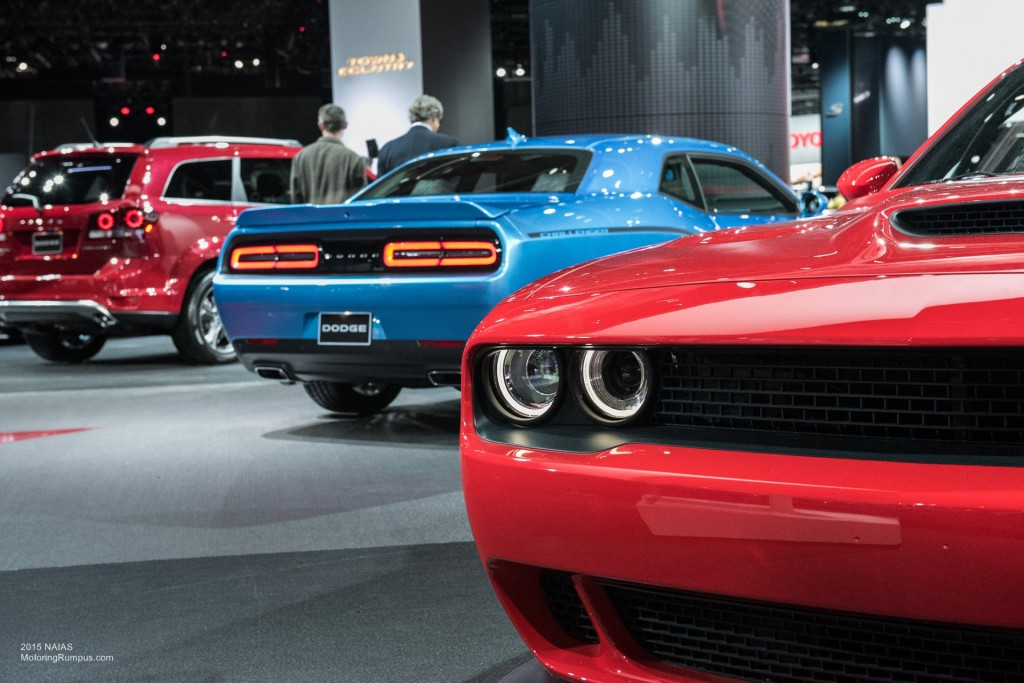 2015 NAIAS Dodge SRT