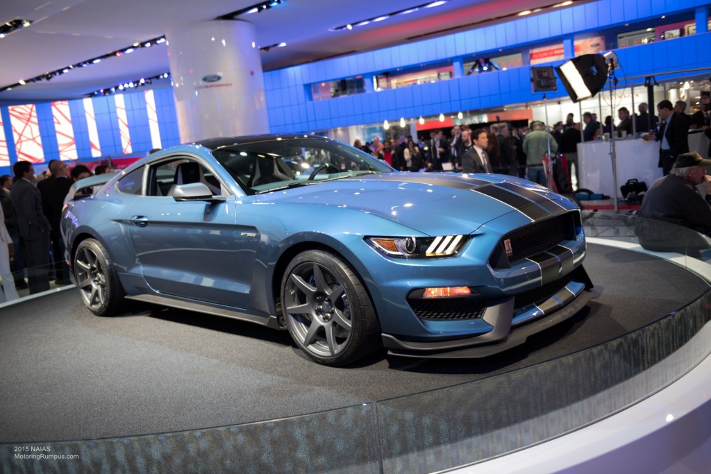 2015 NAIAS Ford Shelby GT350 Mustang