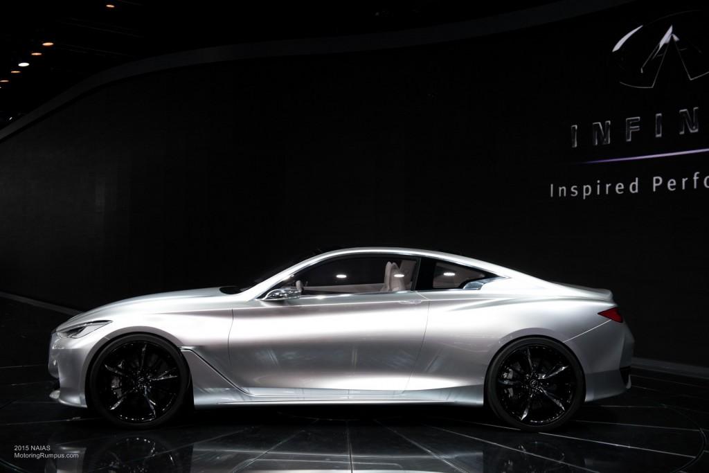 2015 NAIAS Infiniti Q60 Concept Side