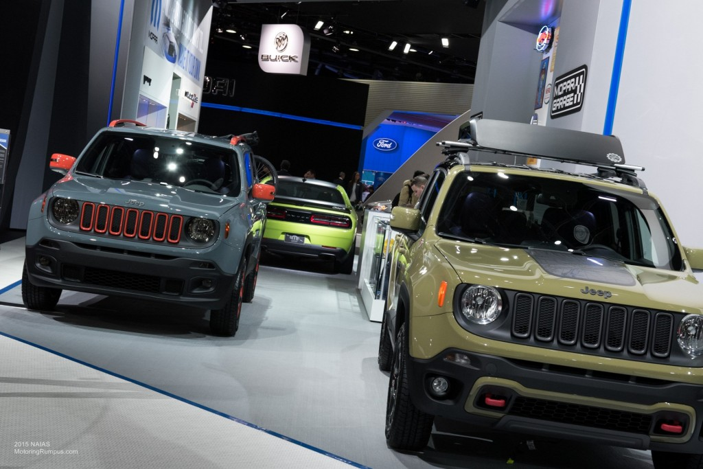 2015 NAIAS Jeep Renegade