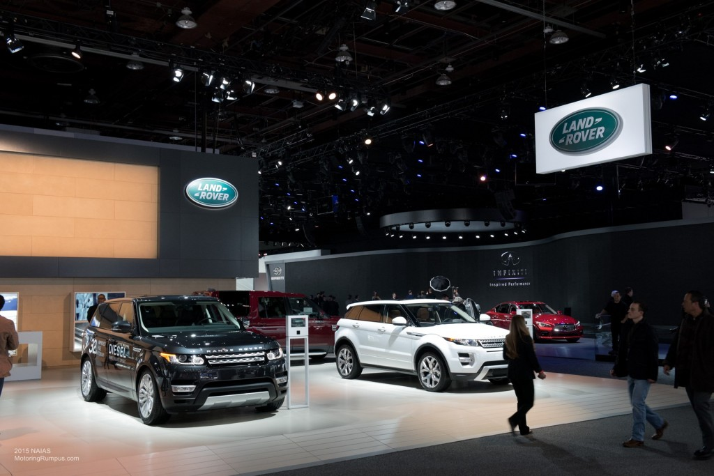 2015 NAIAS Land Rover