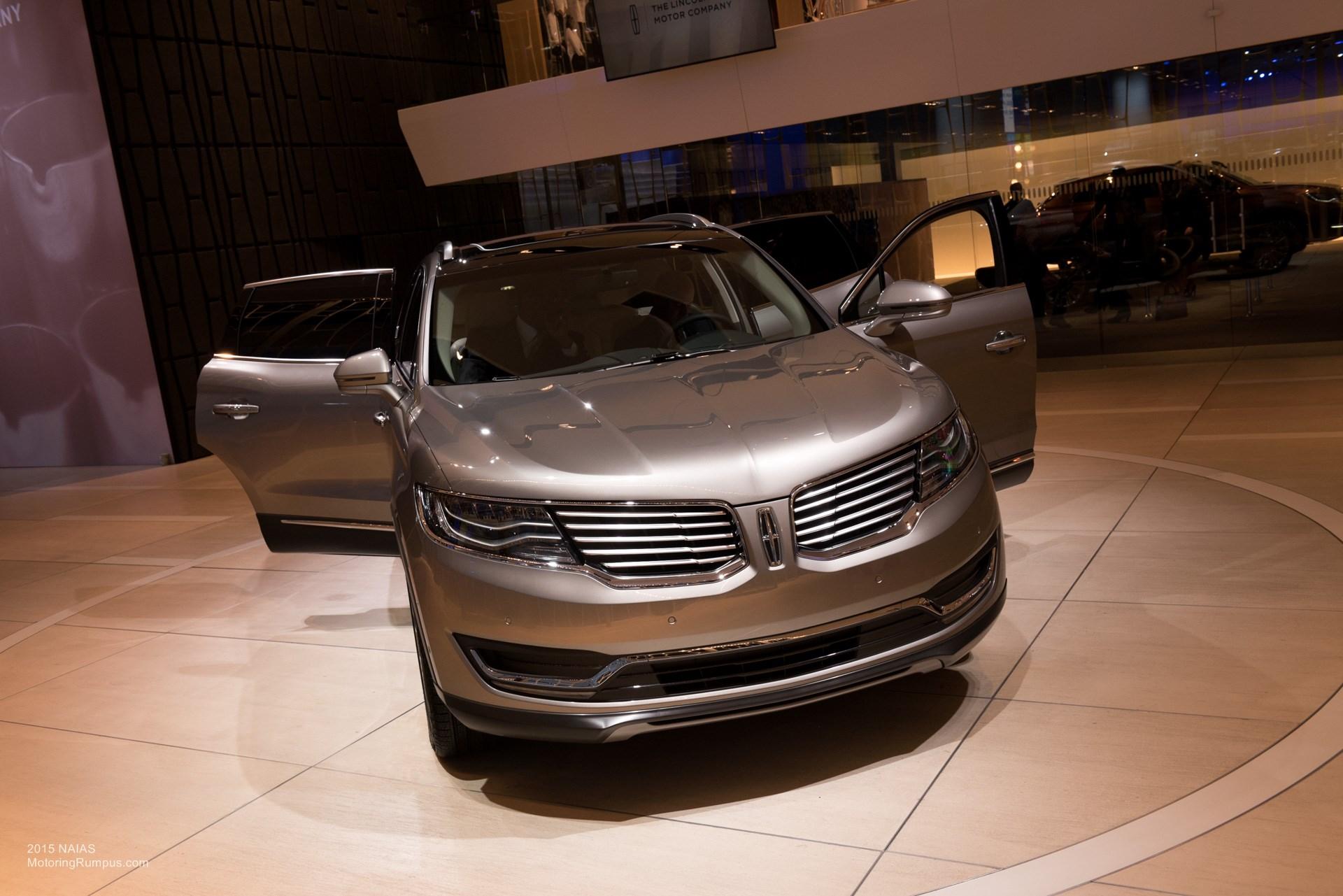 2015 NAIAS Lincoln MKX LED Headlights - Motoring Rumpus