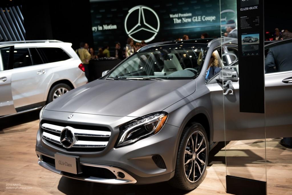 2015 NAIAS Mercedes-Benz GLA250