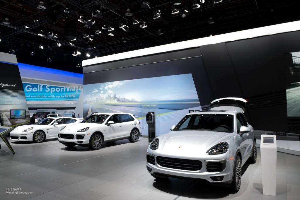 2015 NAIAS Porsche