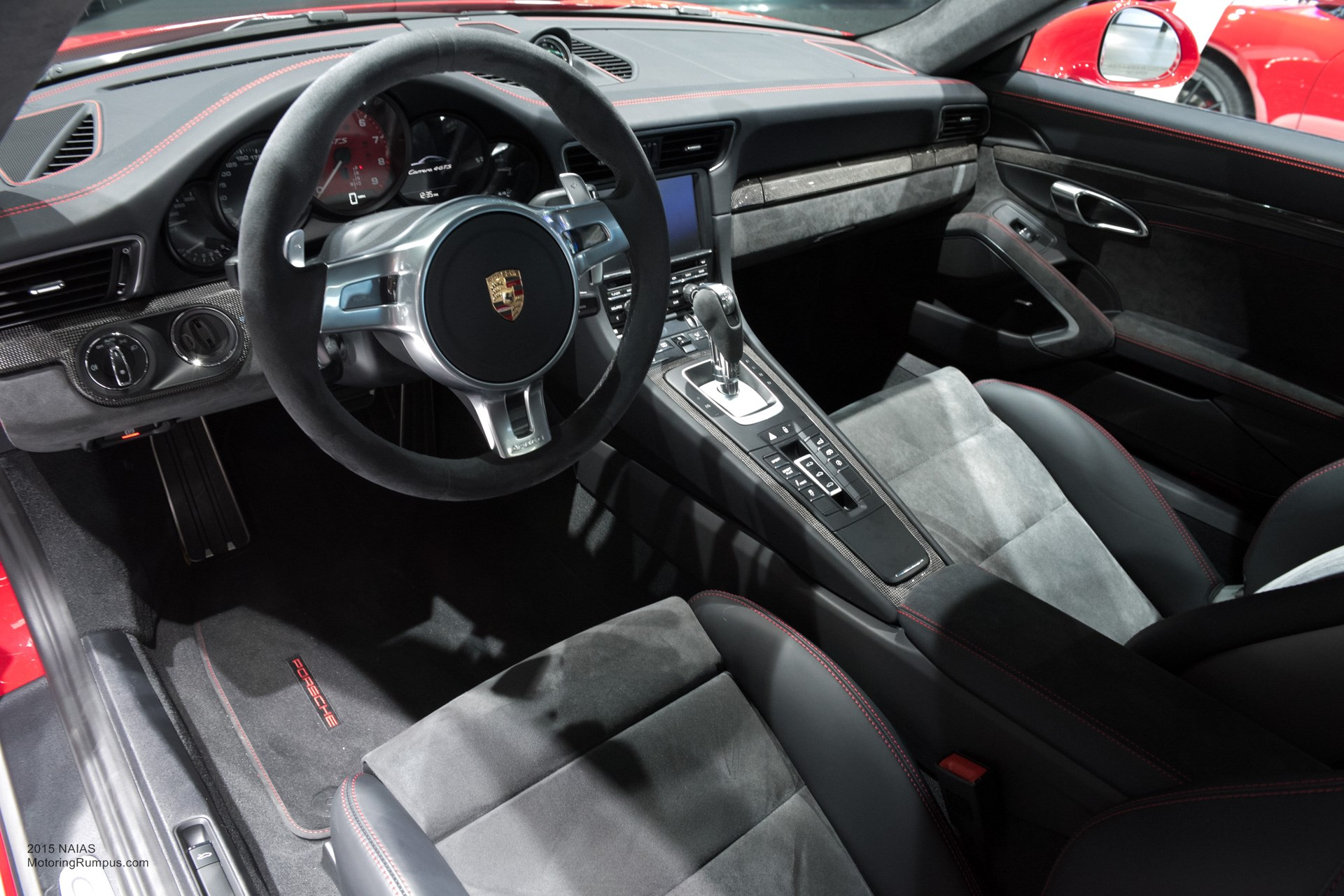 2015 Naias Porsche 911 Carrera 4 Gts Interior Motoring Rumpus