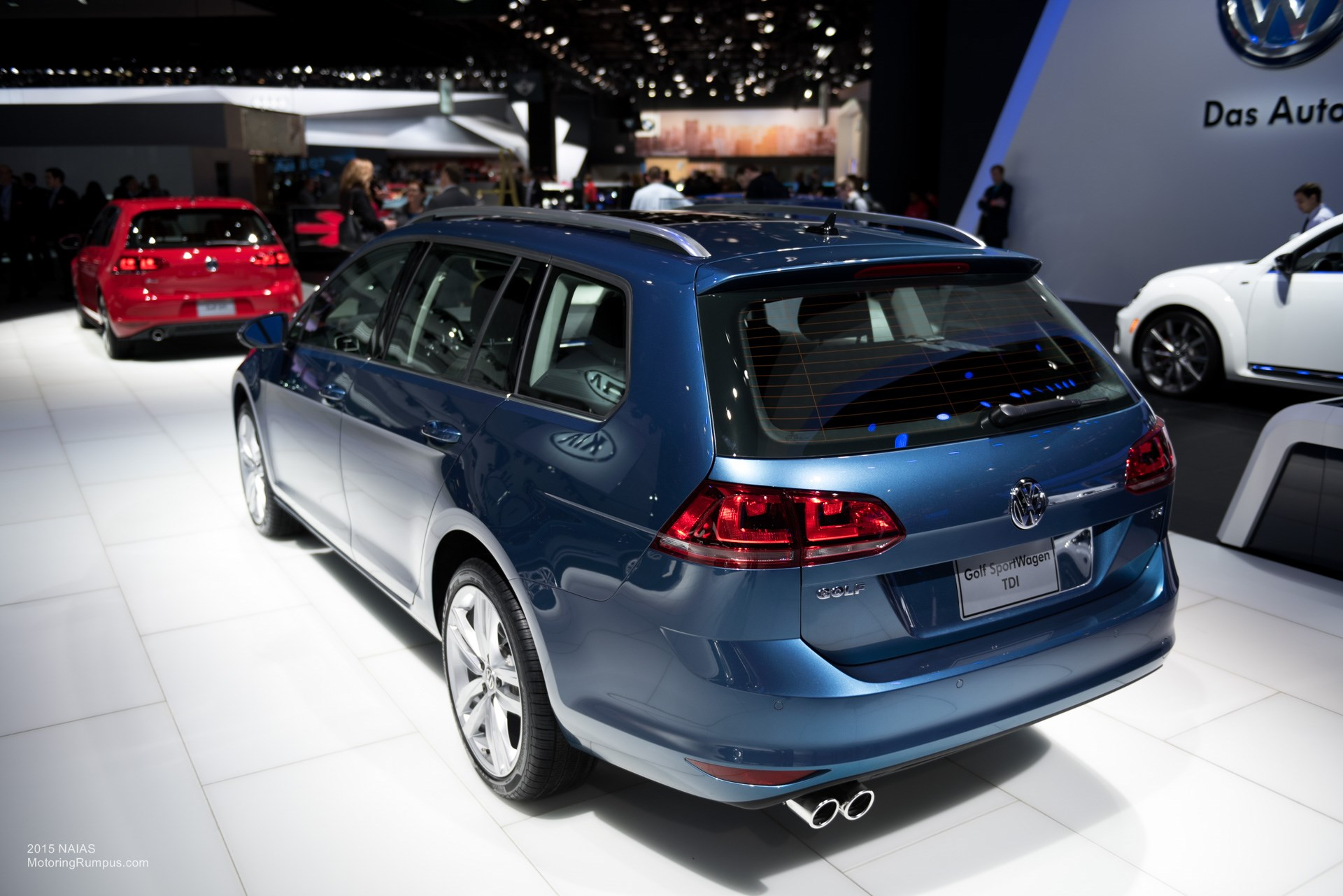 2015 naias volkswagen golf sportwagen tdi motoring rumpus. Black Bedroom Furniture Sets. Home Design Ideas