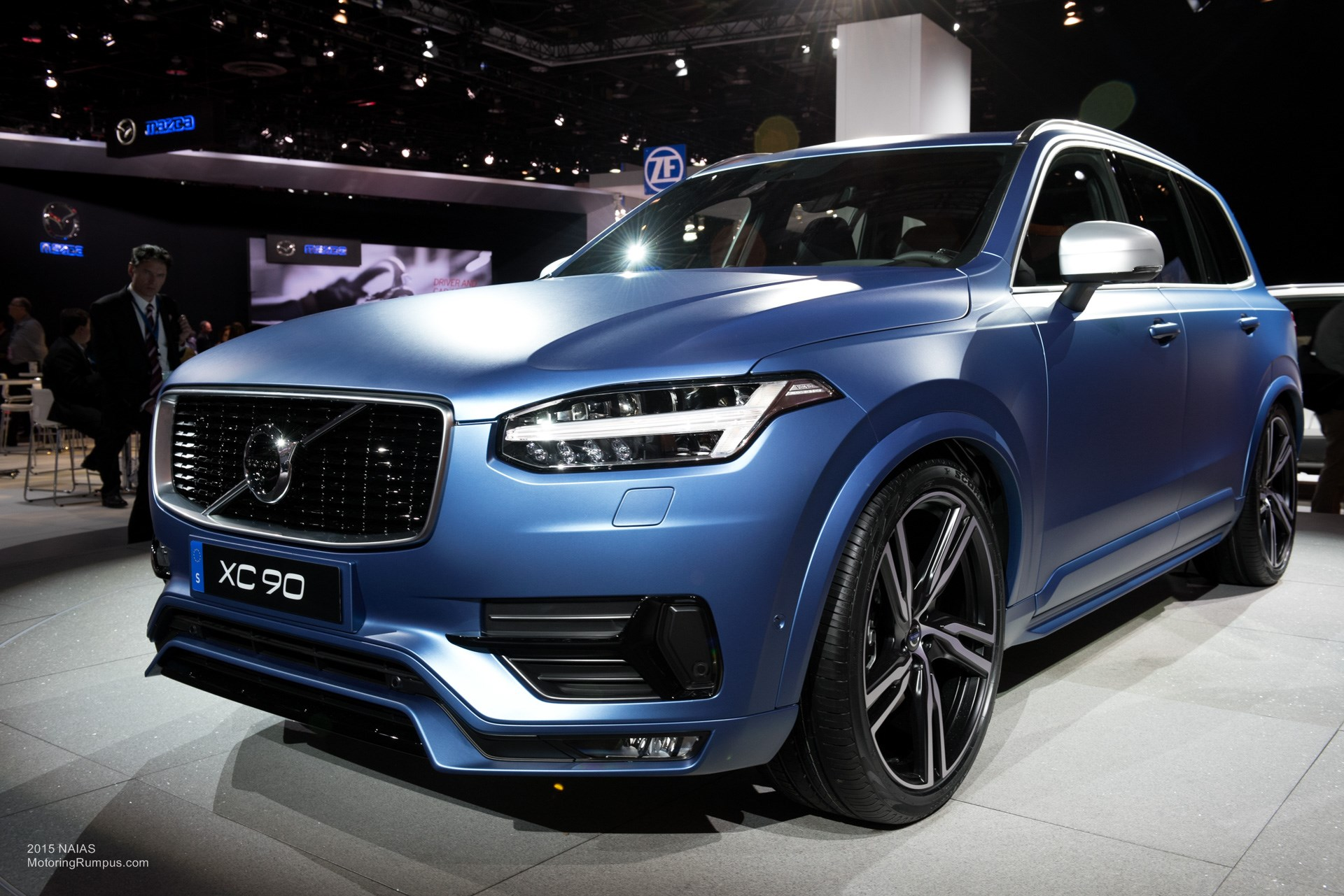 2015 naias volvo xc90 t6 r design interior motoring rumpus. Black Bedroom Furniture Sets. Home Design Ideas
