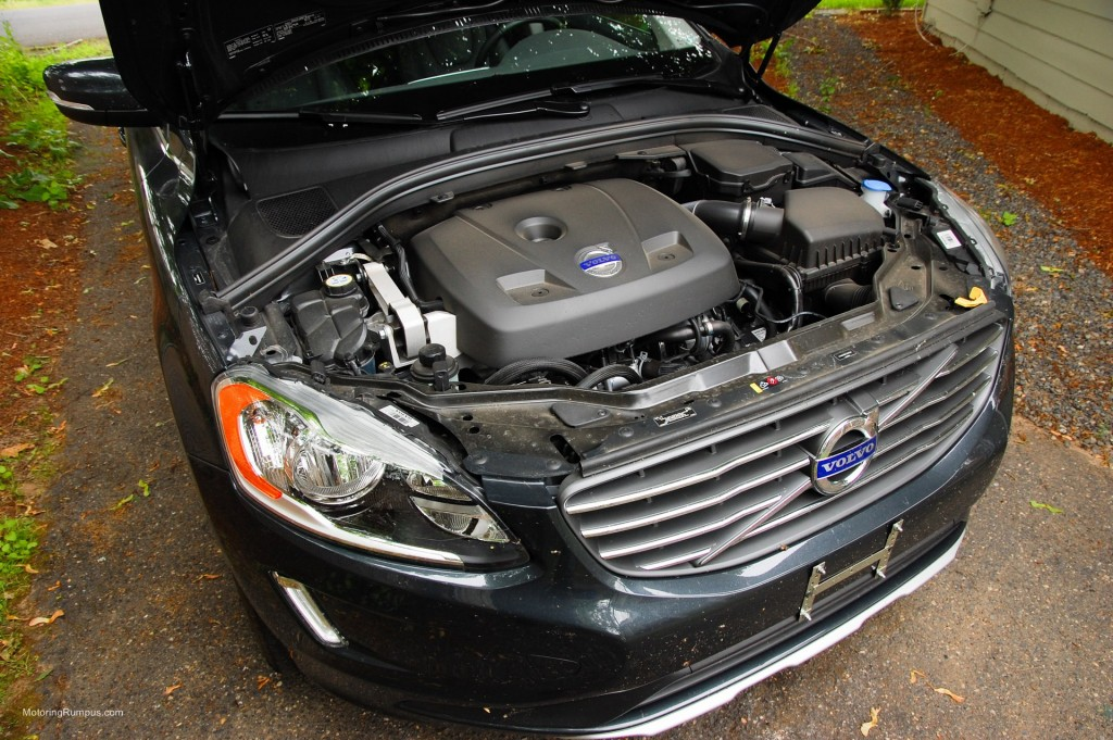 2015 Volvo XC60 T5 2.0L 4-Cylinder Turbo Engine