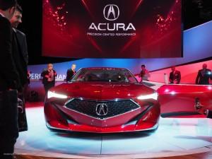 2016 NAIAS Acura Precision Concept Front