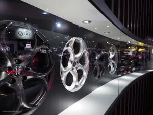 2016 NAIAS Alfa Romeo Giulia Wheels