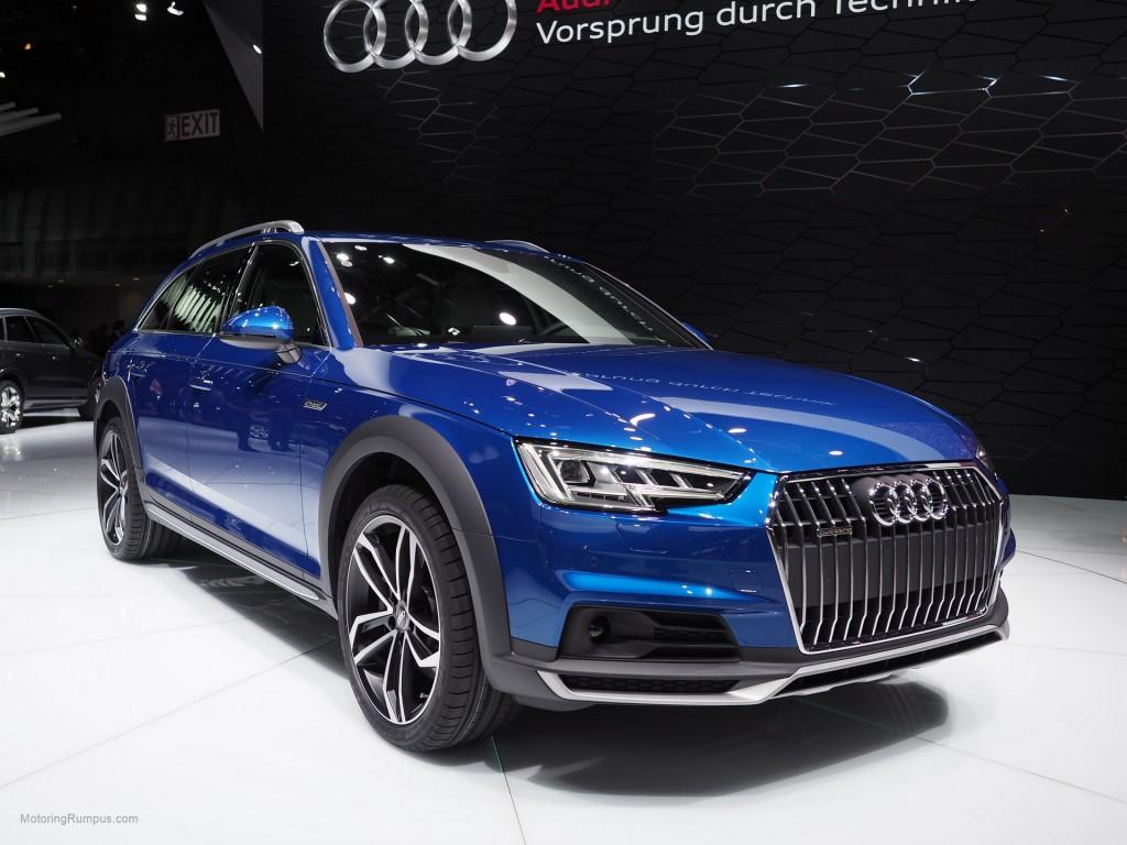 2016 NAIAS Audi A4 allroad