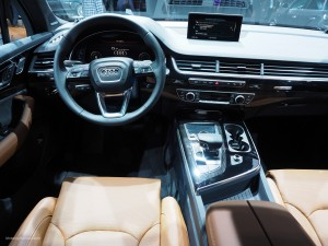 2016 NAIAS Audi Q7 Interior
