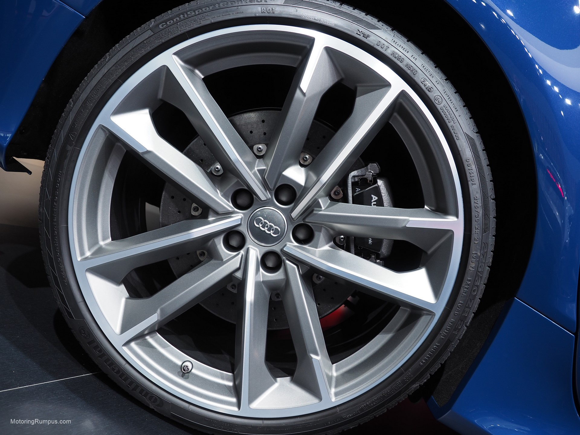 2016 Naias Audi Rs7 21 Inch Wheel Motoring Rumpus
