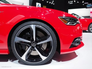 2016 NAIAS Audi S6 21-inch Wheel