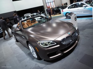 2016 NAIAS BMW 650i Frozen Bronze