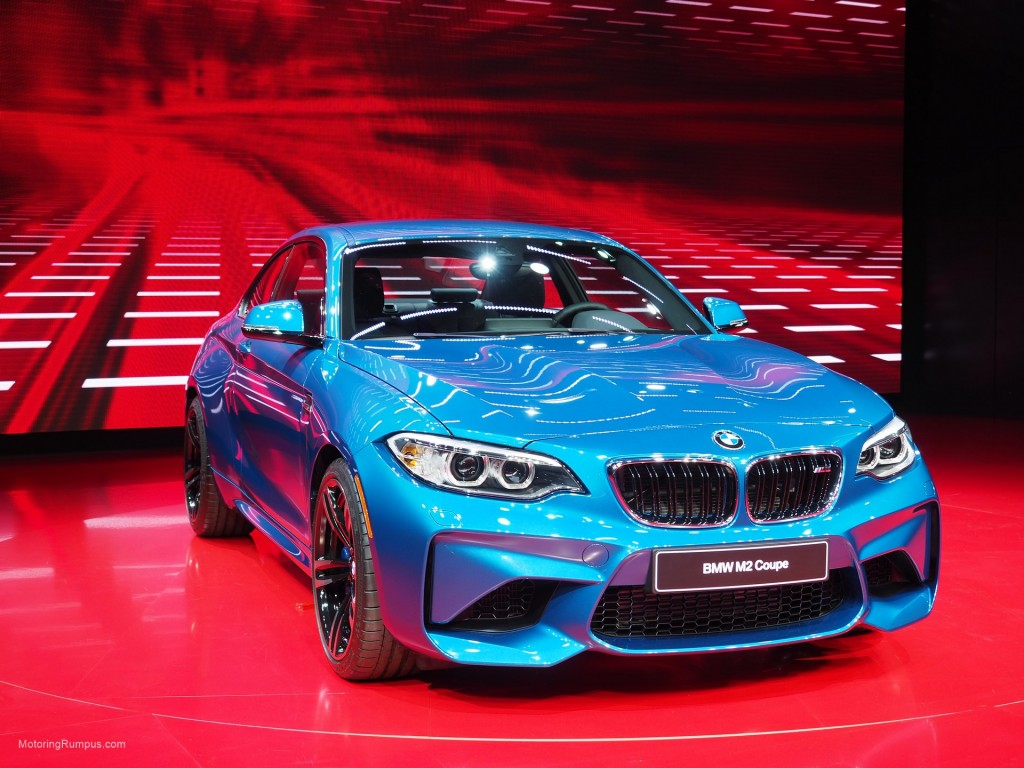 2016 NAIAS BMW M2 Front