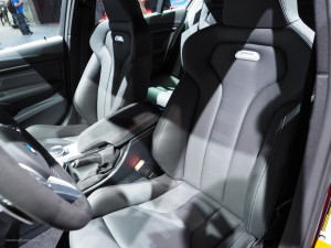 2016 NAIAS BMW M3 Front Seats