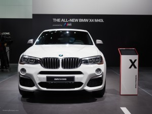 2016 NAIAS BMW X4 M40i Front