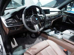 2016 NAIAS BMW X5 Interior