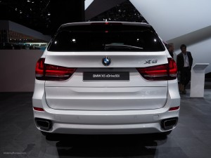 2016 NAIAS BMW X5 Rear