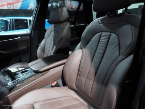 2016 NAIAS BMW X5 Seats