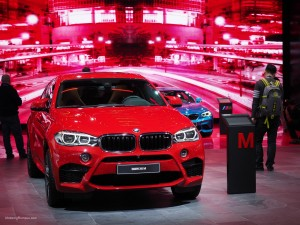 2016 NAIAS BMW X6 M