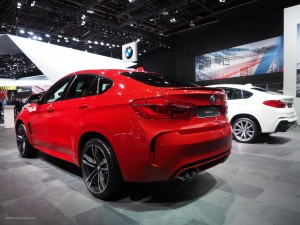 2016 NAIAS BMW X6 and X4