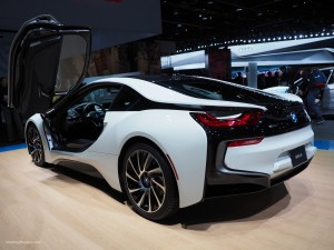 2016 NAIAS BMW i8