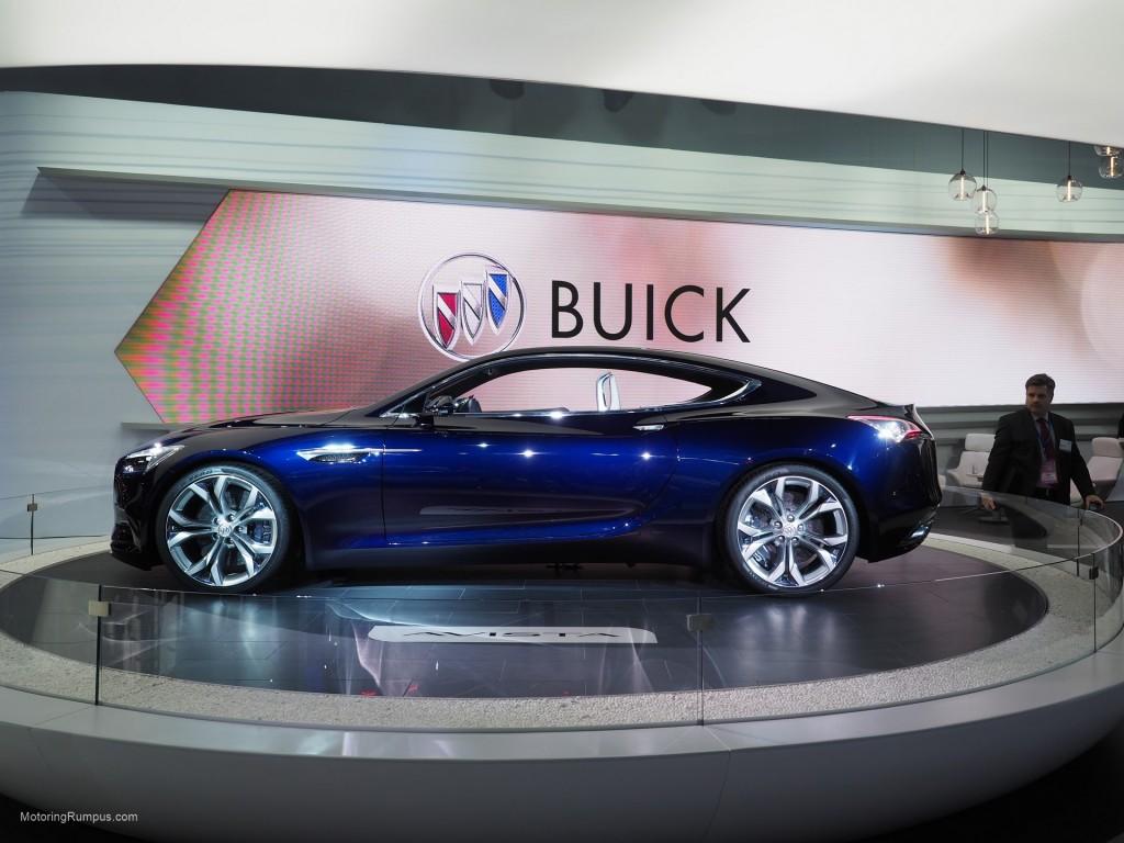 2016 NAIAS Buick Avista Concept