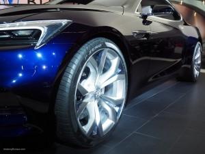 2016 NAIAS Buick Avista Concept 20-inch Wheels