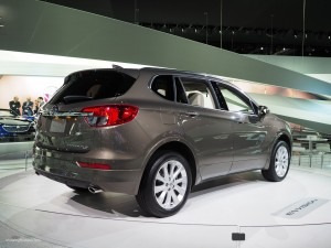 2016 NAIAS Buick Envision Rear