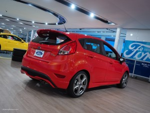 2016 NAIAS Ford Fiesta ST Rear