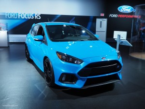 2016 NAIAS Ford Focus RS