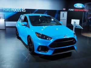 2016 NAIAS Ford Focus RS
