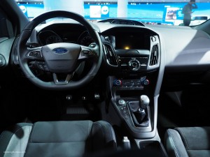 2016 NAIAS Ford Focus RS Interior