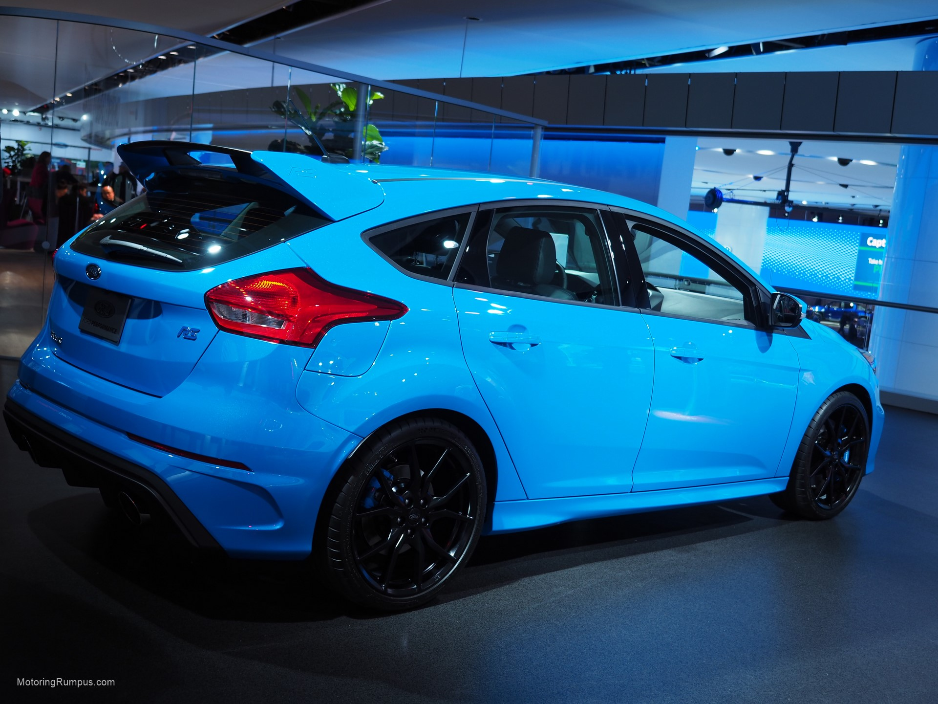 2016 naias ford focus rs nitrous blue motoring rumpus. Black Bedroom Furniture Sets. Home Design Ideas