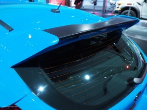 2016 NAIAS Ford Focus RS Spoiler