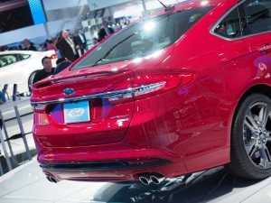 2016 NAIAS Ford Fusion Sport AWD