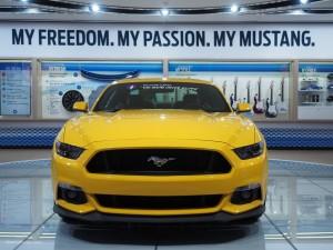 2016 NAIAS Ford Mustang GT