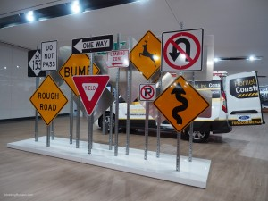 2016 NAIAS Ford Road Signs