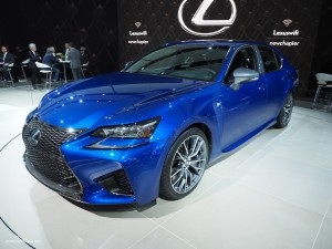 2016 NAIAS Lexus GS F