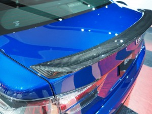 2016 NAIAS Lexus GS F Carbon Fiber Spoiler