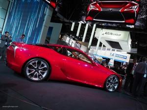2016 NAIAS Lexus LC 500 Coupe