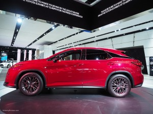 2016 NAIAS Lexus RX