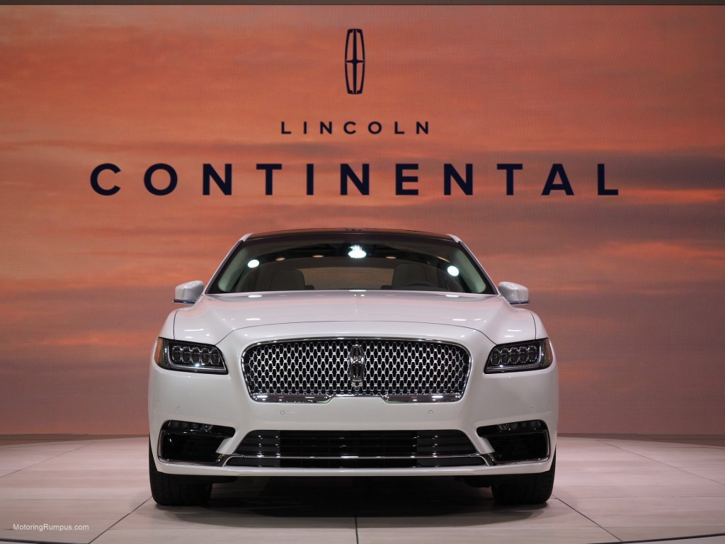 2016 NAIAS Lincoln Continental
