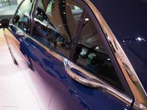 2016 NAIAS Lincoln Continental Door Handles
