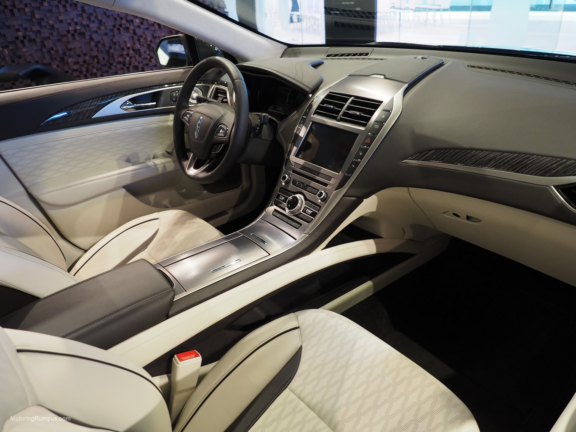 2016 Naias Lincoln Mkz Interior Motoring Rumpus