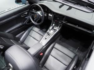 2016 NAIAS Porsche 911 Targa Interior